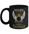 Coffee Mug Funny-Funny Mugs-Mugs Funny-Funny Mugs For Women-Funny Tea Mugs-Coffee Mugs Funny-Sarcasm Mug-Funny Coffee Mug-Never Underestimate the Power Of Women Who Facebook - Coffee Mug - YesECart