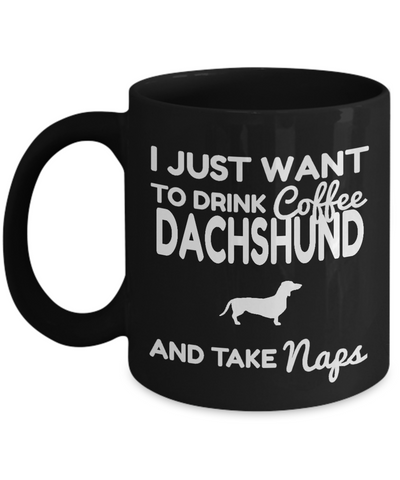 Dachshund Gifts For Men-Dachshund Mug Coffee-Gifts For Dachshund Lovers - Coffee Mug - YesECart