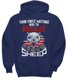 Your First Mistake I'd Sheep - Secound Edition - Shirt / Hoodie - YesECart