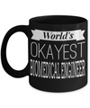 Funny Biomedical Engineering Gifts - Biomedical Engineer Mug - Worlds Okayest Biomedical Engineer - Coffee Mug - YesECart