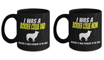 Border Collie Coffee Mug Set - Pet Owner Gifts - 11 Oz Custom Mugs - Dog Gift Border Collie - Gifts For Dog Lovers - Border Collie Gifts - Coffee Mug - YesECart