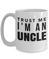 Best Uncle Gifts From Kids - Best Uncle 15oz Coffee Mug - Funny Uncle Gifts From Niece - Best Uncle Mug - I Love My Uncle Mug - Trust Me I Am An Uncle - Coffee Mug - YesECart