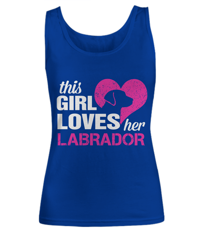 This Girl Loves Her Labrador - Perfect Labrador Lovers Gifts-Lab T Shirts - Shirt / Hoodie - YesECart
