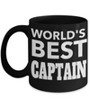 Captain Mug- Sailing Mug - Boating Mug- Sailing Gifts For Men- Captain Gifts For Men - Worlds Best Captain - Coffee Mug - YesECart