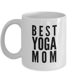 Yoga Gift For Her-Yoga Coffee Mug-Yoga Gifts For Women-Gifts For Yoga Lovers-Best Yoga Mom - Coffee Mug - YesECart