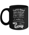 Funny Speech Therapist Gifts - Speech Therapists Mug - I am a Speech Therapist That Means I am Creative Cool Passionate and a Little Bit Crazy - Coffee Mug - YesECart