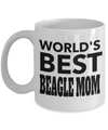 Beagle Gifts-Beagle Mug-Beagle Lover Gifts-Beagle Mom-Worlds Best Beagle Mom - Coffee Mug - YesECart
