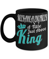 Funny Mechanical Engineering Gifts - Mechanical  Engineer Mug - Mechanical Engineer A Title Just Above King - Coffee Mug - YesECart