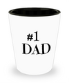 Fathers Day Gift- Unique Gifts For Dad - Best Dad Gifts - Gift Ideas For Dad -Number One Dad Shot Glass - Shot Glass - YesECart