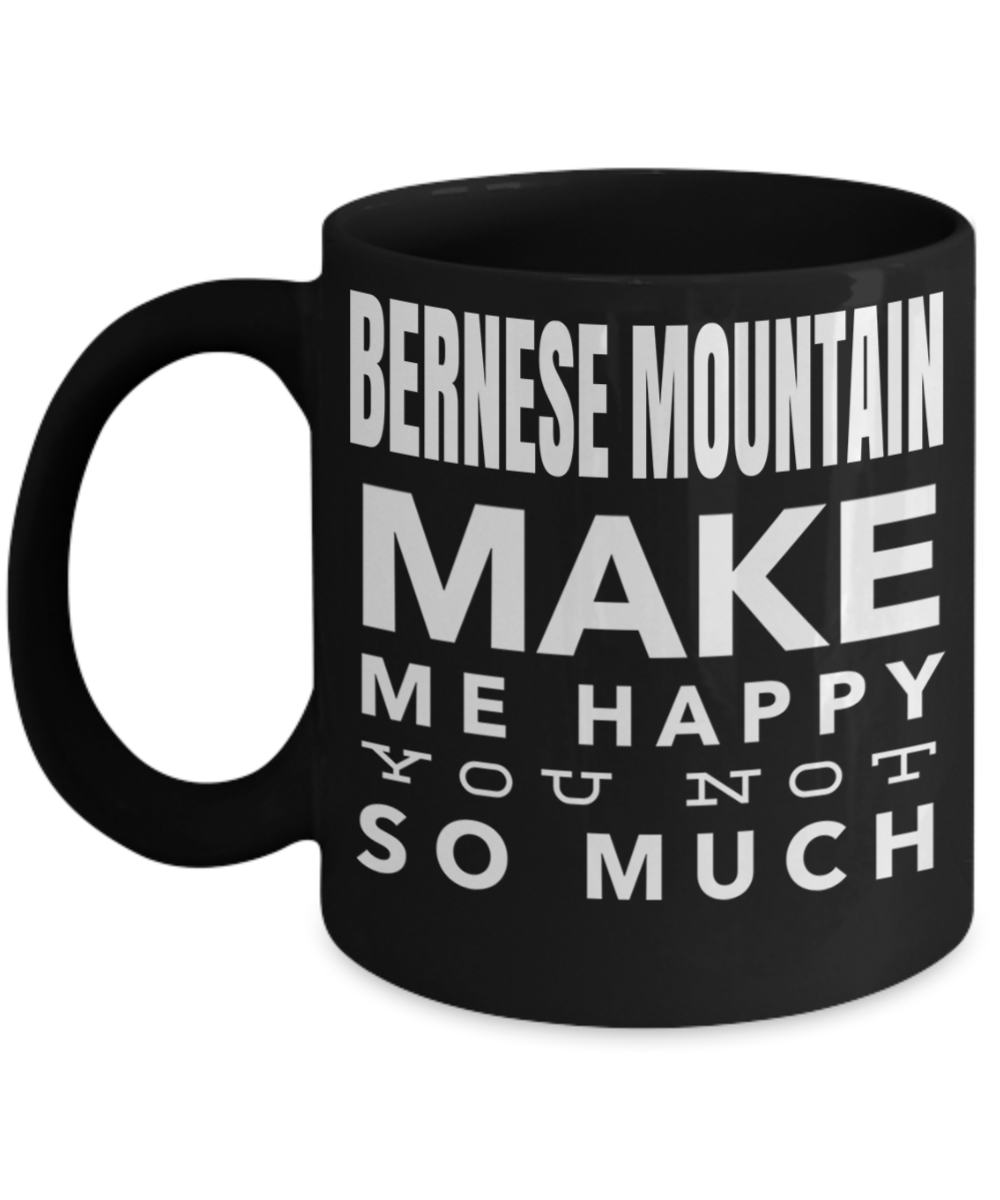 Christmas Gifts For Dog Lovers Mugs - Bernese Mountain Dog Cups - Gift