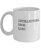 Intellectual Drug dealer - White - Coffee Mug - YesECart