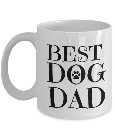 Best Dog Dad Mug - Coffee Mug - YesECart
