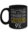 Greyhound Coffee Mug-Greyhound Gifts-Gifts For Greyhound Lovers-Greyhound Mom - Coffee Mug - YesECart