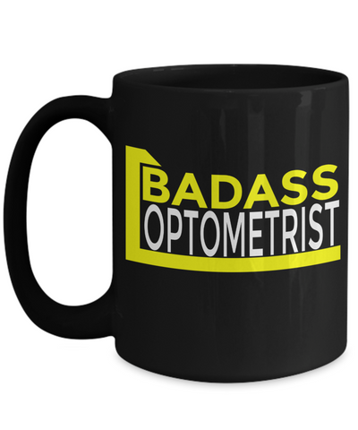 Best Optometrist Gifts For Woman - Eye Doctor Gifts - 15oz Eye Doctor Coffee Mug - Funny Eye Doctor Mug - Badass Optometrist - Coffee Mug - YesECart