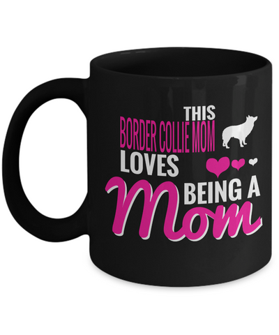 Border Collie Gifts-Border Collie Mug-Border Collie Mom - Coffee Mug - YesECart