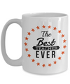 Best Teacher Mug - 15oz Teacher Coffee Mug - Teacher Gifts For Christmas - Funny Teacher Gift Ideas - Retirement Gifts For Teachers - The Best Teacher Ever - Coffee Mug - YesECart
