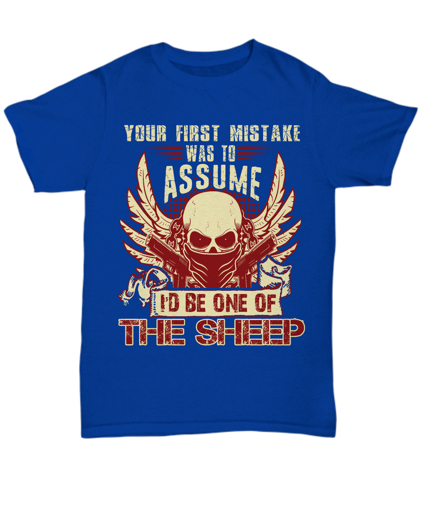 Your First Mistake I'd Sheep - First Edition - Shirt / Hoodie - YesECart