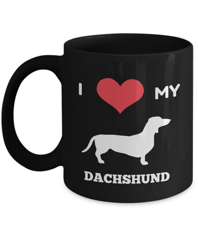 Dachshund Mom-Dachshund Mug Coffee-Gifts For Dachshund Lovers - Coffee Mug - YesECart