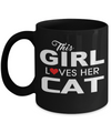 Cat Lover Gifts-Cat Gifts-Cat Gifts For Cat Lovers-Cat Mom-Crazy Cat Lady Mug - Coffee Mug - YesECart