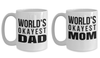 Coffee Mugs For Dad - 15 oz Good Anniversary Gifts For Him - Love You Dad Mug - Gift For Dad - Cool Mugs For Mom - Mom Personalized Gifts - Best Mom Birthday Gifts - Coffee Mug - YesECart