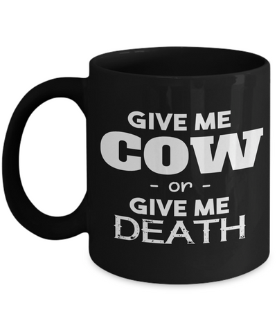 Chicken Gifts-Chicken Themed Gifts-Chicken Mug-Chicken DCow Mug -Cow Coffee Mug-Funny Cow Gifts-Cow Themed Gifts-Cow Dadad - Coffee Mug - YesECart
