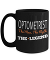 Best Optometrist Gifts For Woman - Eye Doctor Gifts - 15oz Eye Doctor Coffee Mug - Funny Eye Doctor Mug - Optometrist The Man The Myth The Legend - Coffee Mug - YesECart