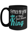 Best Birthday Gifts For Father In Law - 15 oz Father In Law Coffe Mug - Father In Law Coffee Mug - Gift Ideas For Father In Law For Wedding - Father In Law A Title Just Above King - Coffee Mug - YesECart