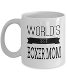 Boxer Dog Gifts For Owners-Boxer Mug-Boxer Dog Mom Mug