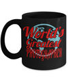 Funny Photographer Gifts For Women - Gift Ideas For Photographers - Photographer Coffee Mug - Worlds Greatest Photographer - Coffee Mug - YesECart