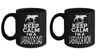 Coffee Mug Printing - 11 Oz Gifts For French  Labrador - Labrador Owners Gifts - Muggies Best Dad Ever - Labrador Dad Eve Owners - Coffee Mug - YesECart
