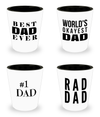 Father Shot Glass - Father Day Gifts From Daughter - Shot Glass - YesECart