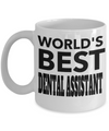 Dental Assistant Gifts For Women or Men - Funny Dental Assistant Graduation Gifts - Dental Assistant Mug - Worlds Best Dental Assistant - Coffee Mug - YesECart