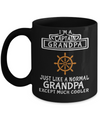 Captain Mug- Sailing Mug - Boating Mug- Sailing Gifts For Women-Captain Gifts For Women - I Am A Captain Grandpa Just Like A Normal Grandpa Except Much Cooler - Coffee Mug - YesECart