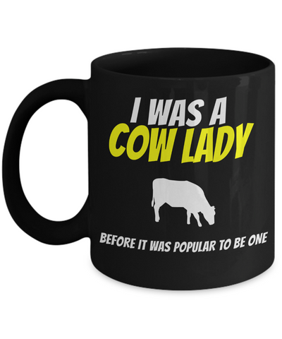 Cow Mug -Cow Coffee Mug-Funny Cow Gifts-Cow Themed Gifts-Cow Mom - Coffee Mug - YesECart