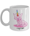 Crazy Cat Lady Mug -Caticorn-Cat Mom Mug-crazy Cat Lady Coffee Mug-crazy Cat Lady Gifts-cat Lover Gifts-funny Cat Gifts-cat Lady Gifts-gifts For Cat Lovers-Funny cat gifts - Coffee Mug - YesECart