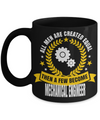 Funny Mechanical Engineering Gifts - Mechanical  Engineer Mug - All Men Are Created Equal Then A Few Become Mechanical Engineer - Coffee Mug - YesECart