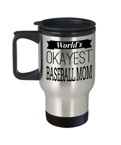 Baseball Mom Travel Mug- Baseball Mom Gifts Ideas - Travel Mug - YesECart