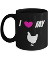 Chicken Gifts-Chicken Themed Gifts-Chicken Mug-Chicken Lady - Coffee Mug - YesECart