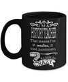 Best History Teacher Gifts - Funny History Teachers Mug - I am a History Teacher That Means I am Creative Cool Passionate and a Little Bit Crazy Black Mug Black Mug - Coffee Mug - YesECart