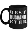 Husband Gifts From Wife - Anniversary Gifts For Husband - Birthday Gifts For Husband - Best Gift Ideas For Husband - Best Husband Coffee Mug - Best Husband Ever Black Mug - Coffee Mug - YesECart