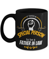 Best Birthday Gifts For Father In Law - Father In Law Coffee Mug - Gift Ideas For Father In Law  For Wedding - It Takes a Special Person To Be a Father in Law Black Mug - Coffee Mug - YesECart