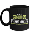 Greyhound Coffee Mug-Greyhound Gifts-Gifts For Greyhound Lovers-Greyhound Dad - Coffee Mug - YesECart