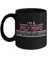 Funny Speech Therapist Gifts - Speech Therapists Mug - I am a Speech Therapist To Save Time Lets Assume That I am Never Wrong - Coffee Mug - YesECart