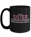 Personalized Sister Mugs - 15 oz Sister Coffee Mug - Sister Gift - Best Sister Coffee Mug - Best Sister Mug - I Am A Sister To Save Time Lets Assume That I Am Never Wrong - Coffee Mug - YesECart