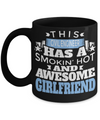 Funny Civil Engineering Gifts - Civil  Engineer Mug - This Civil Engineer Has A Smoking Hot And Awesome Girlfriend - Coffee Mug - YesECart