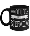 Good Step Mom Gifts  For Christmas Or Wedding - Step Mom Gifts For Birthday - Best Step Mom Mug - Worlds Best Step Mom - Coffee Mug - YesECart
