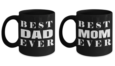 American Dad Mug - Dad Mugs - Best Dad Gifts - Mom Dad Anniversary Gifts - Best Mom Mug - My Mom Mug - Gift For Mom - New Mom Gifts - 11oz Couple Mug - Coffee Mug - YesECart