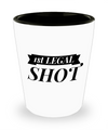 Shot Glasses Birthday Girl- 21 St Birthday Gifts Idea- 21 Birthday Gifts For Her- 1st Legal Shot - Shot Glass - YesECart