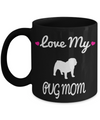 Black Pug Mug-Pug Dog Gifts-Black Pug Gifts-Pug  Mom - Coffee Mug - YesECart