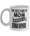 Frog Gifts-Frog Themed Gifts-Frog Mug-Mug Frog-Frog MomThis Best Kind Of Mom Raises A German Shepherd White Mug - Coffee Mug - YesECart